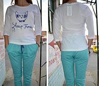 Пижама, комплект для дома. 100% х/б. Lemila 602-3. Размер XXL