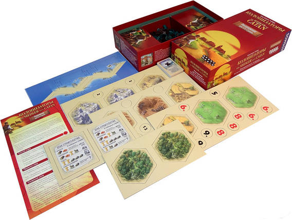 Настольная игра Колонизаторы. Расширение для 5-6 игроков, фото 2