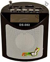 Мини портативная MP3 колонка радио USB FM DS-002