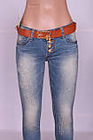 Зауженные джинсы женские Cudi (код 9107) , фото 5