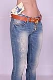 Зауженные джинсы женские Cudi (код 9107) , фото 6