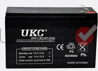 Аккумулятор UKC 12V 7.2Ah WST-7.2