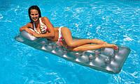 Пляжный надувной одноместный матрас Intex 58894 прозрачный 188x71 см