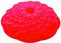 🔥✅ Форма силиконовая Empire 7164 хризантема формочка для выпекания кексов цветок