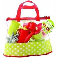 Прозрачная сумочка с набором посуды Ecoiffier 2640