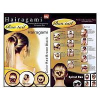 Заколки для волос Hairagami Bun Tail резинка - заколка ( Хеагами )