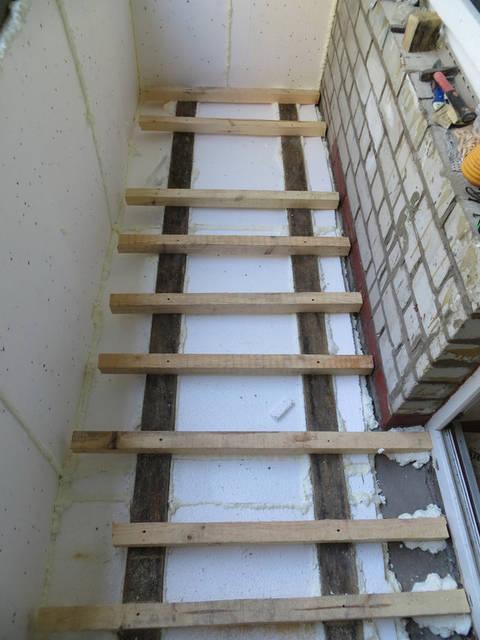 Балкон под ключ с кладовкой 2
