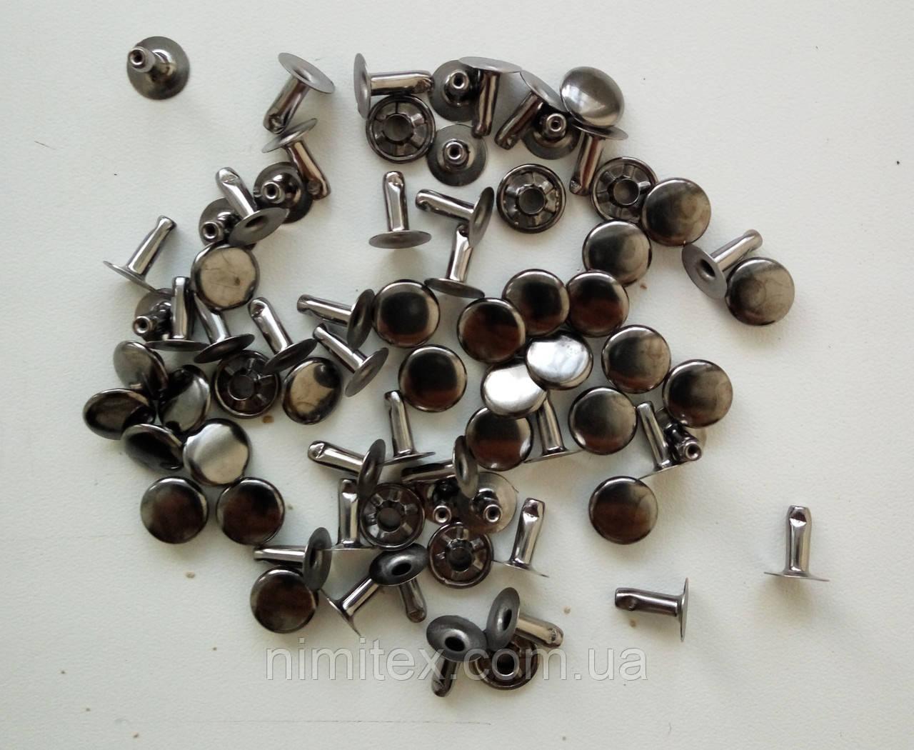 Хольнитен 9 мм х 8 мм черный никель