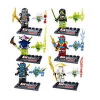 НИНДЗЯГО Призраки фигурки Игрушки NinjaGo Аналог LEGO N-0866