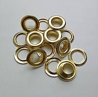 Люверс №5 - 7,5 мм (с шайбой), золото