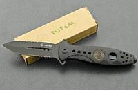 Складной нож Тотем B096B Серрейтор, стеклобой