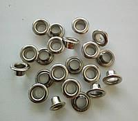 Блочка №4 - 6 мм (с шайбой), нержавейка, никель