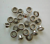 Блочка №4 - 6 мм (с шайбой) нержавейка никель