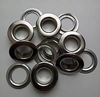 Люверс №28 - 13 мм (с шайбой), нержавеющий, никель