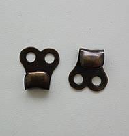 Крючок обувной штамповка, антик