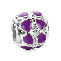Шарм pandora Клевер purple