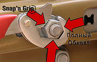 УНИВЕРСАЛЬНЫЙ ЧУДО КЛЮЧ SNAP N GRIP (В НАБОРЕ 2 ШТУКИ), Универсальный ручной гаечный ключ Snap'N Grip