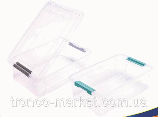 """Контейнер """"Smart Box"""" з органайзером 1,7 л Алеана, фото 2"""