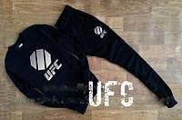 Мужской чёрный спортивный костюм | UFC logo