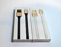 Кабель Samsung Micro V8, 1м, сантиметр, (зарядка+DATA-кабель), Black, White