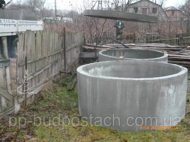 Каналізація в приватному будинку Виготовлення бетонних кілець