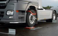 Стенд развал схождения для грузовых колес KOCH Германия