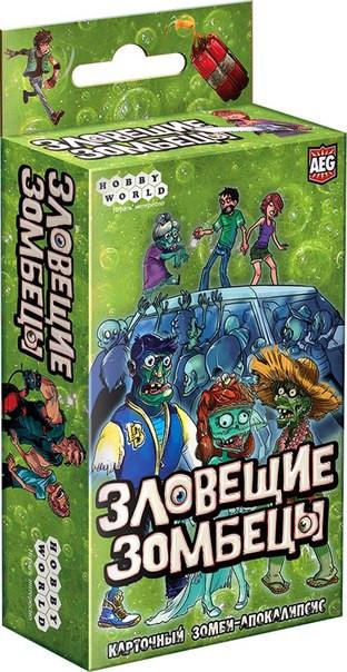Настольная игра Зловещие зомбецы