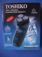 Мужская электробритва Toshiko TK-356 Deluxe с триммером