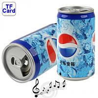 Портативная MP3 колонка банка Pepsi