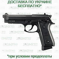 Пневматический пистолет беретта 92 (Beretta 92fs), kwc kmb-15 blowback, full metal