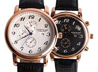 Мужские наручные часы Montblanc белый циферблат Монтбланк