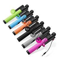 Монопод для селфи D12 S (цвета в ассортименте), Selfie Stick Compact, штатив для смартфона