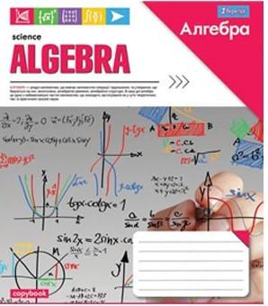 """Тетрадь 48 листов """"1 Вересня"""" клетка """"Алгебра. Science"""""""