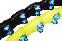 Обруч - массажер Hop-Sport с шариками 6001