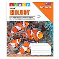 """Тетрадь 48 листов """"1 Вересня"""" клетка """"Биология. Science"""""""
