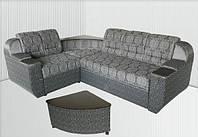 Угловой диван со встроенным журнальным столиком Бостон