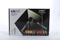 Микрофон DM UKC-688, профессиональная радио система с двумя без проводными микрофонами и гарнитурой