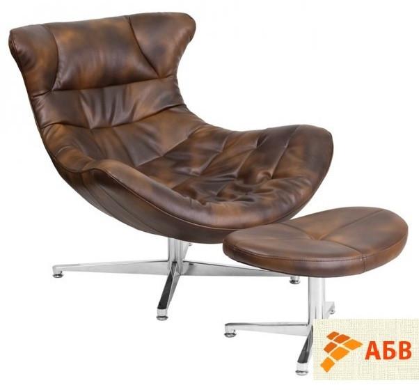 Кресло Мексика с оттоманкой (СДМ мебель-ТМ)