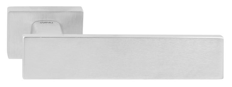 Дверные ручки TUPAI LINHA Q 2 2730 RE – матовый хром, фото 1