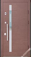 Входные стальные двери ТМ Страж Модель Дельта Коста Винорит венге Мультлок