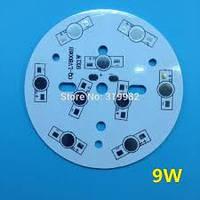Плата алюминиевая (подложка) для 9-и светодиодов 1-3 Вт, 78mm