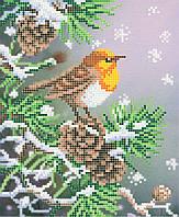 """Схема для вышивки бисером """"Оранжевая птица"""""""