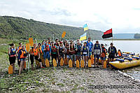 Однодневный сплав по реке Днестр Устечко – Залещики.