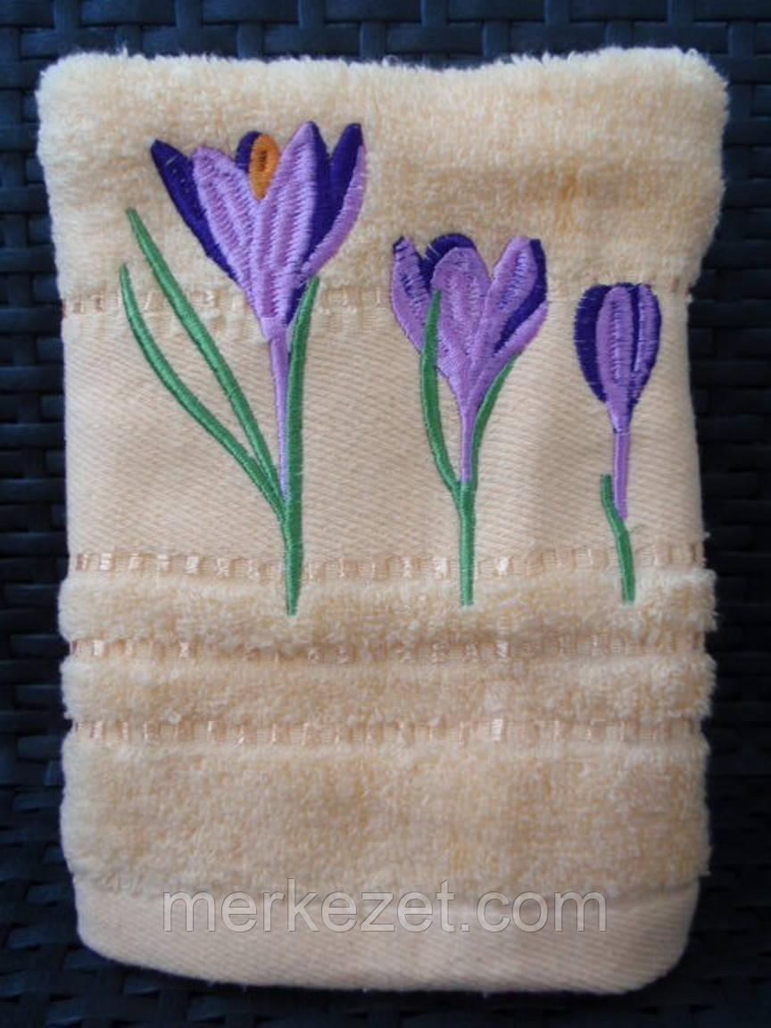 """Полотенце для бани. Махровое полотенце """"Крокус"""". Полотенца махровые банные. Махра, баня"""