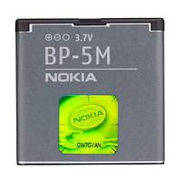 Оригинальный аккумулятор АКБ Nokia BP-5M 7390 5610 5700 6110N 6220C 6500S 8600