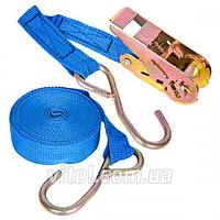 Vitol ST-214-5 25мм х 5м 1т - стяжка груза синяя