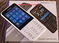 Мобильный телефон Nokia 230 Белый MicroUSB Экран 2.8'' GPRS копия Нокия 230