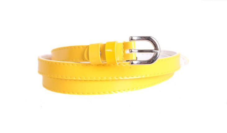 Купить желтый женский ремень кожаный брючный ремень мужской