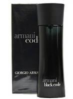 Туалетная вода мужская  Giorgio Armani Black Code