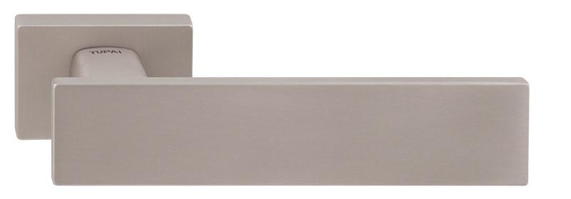 Дверные ручки TUPAI LINHA Q 2 2730 RE – матовый никель, фото 1